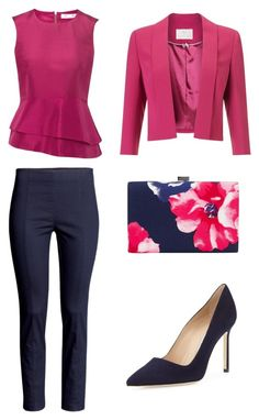 """daily look"" by martyna10146 on Polyvore featuring moda, Jacques Vert, H&M, Manolo Blahnik i Precis Petite"
