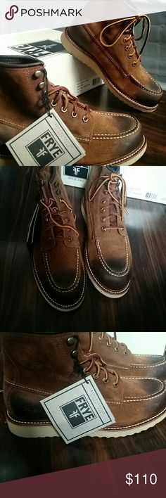 Vintage frye boots for men Natural leather boots. Care instructions included. Original price $ 160 Frye Shoes Boots