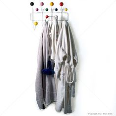 Hang It All Rack - Eames Reproduction - Natural - Milan Direct UK