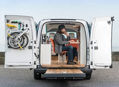 The World's First All-Electric Mobile Office — Pop-Up City