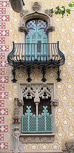 Casa Atmetller - Barcelona. Knew this was Barcelona as soon as I saw it! Beautiful :)