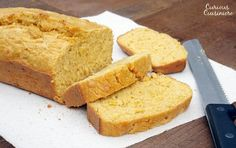 Kernels of sweet corn stud this sweet and flavorful Mealie Bread, a South African sweetcorn bread that is sure to delight any cornbread fan.Yield: 1 loaf of delicious cornbread Corn Pudding Recipes, Bread Recipes, Cake Recipes, Cooking Recipes, Chicken And Sweetcorn Soup, Sweet Cornbread, South African Recipes, Savoury Baking, Bread Cake