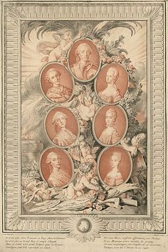 Tea at Trianon: Louis XV and His Grandsons