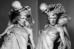 Tenax Vitae by Rinaldo Carnielo (1853-1910) in Florence, Italy