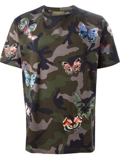Valentino 'Rockstud Camubutterfly' camouflage T-shirt - that should be mine!