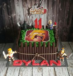 Clash of clans cake