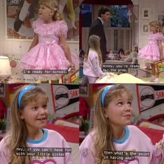 Full House Memes, Full House Funny, Full House Quotes, Ice Queen Adventure Time, Fuller House Cast, Full House Tv Show, Dj Tanner, Tv Show Quotes, Girl Meets World