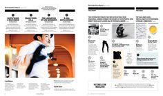 New York Times Magazine, Redesign, 2011 — Matt Willey Graphic Design Books, Book Design, Web Inspiration, Graphic Design Inspiration, Design Ideas, Editorial Layout, Editorial Design, Contents Page Design, Magazine Layout Design