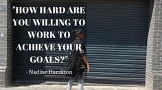 How Hard Will You Work? I have felt pretty fired up recently and really want Street Meets Style to be a place where creativity, motivation, health, fitness, individuality and achievement are promot…