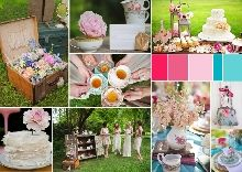 How to throw an outdoor bridal shower with bridal shower inspiration boards Shower Inspiration, Creative Inspiration, Wedding Inspiration, Inspiration Boards, Outdoor Bridal Showers, Wedding Showers, Tea Party Bridal Shower, Wedding Venues, Dream Wedding