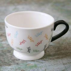 "Amy Sedaris ""I Like You"" Footed Mug - I Like You by Amy Sedaris - Patterns & Collections"