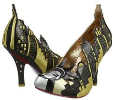 Zapatos New Yor Irregular Choice #ZapatosMujer #ModaCalzado #AmazonModa #Outfit #Fashion #Tacones #ModaOtoñoInvierno #IrregularChoice