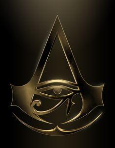 AC Origins gold logo > it's so shiny Tatouage Assassins Creed, Assassins Creed Tattoo, Arte Assassins Creed, Assassins Creed Origins, Assassins Creed Odyssey, Best Assassin's Creed, Assessin Creed, All Assassin's Creed, Assassin's Creed Wallpaper