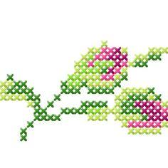 Handmade with roses Zart-romantische Kreuzstichrosen und dazu wie mit der Hand geschriebene Label und Schriften, das sind die Zutaten für diese zauberhafte Kollektion. Mit 30er Baumwoll-Stickgarn sehen die Kreuzstichmotive am allerschönsten aus, aber selbst mit 40er Stickgarn geht der Handarbeitscharakter nicht verloren.    In den Designbeispielen seht Ihr unzählige Möglichkeiten für die Verwendung der Dateien. Für Designbeispiele und Größen bitte klicken