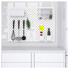 Hold Everything! IKEA's Pegboards Are Finally Available in the U.S. — Shopping News