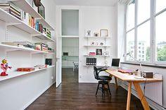 clean, plain office