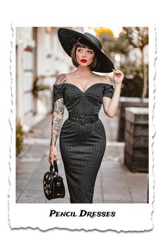 Pin Up Dresses, Dresses Online, 1950s Dresses, Vintage Inspired Dresses, Vintage Outfits, Vintage Clothing, 50s Clothing, Rockabilly Clothing, Retro Fashion