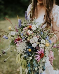 """6,163 Likes, 110 Comments - Engaged Life (@engagedlife) on Instagram: """"Speechless over this dress (tell us where it's from @mmmriss), hair, flower crown and bouquet …"""""""