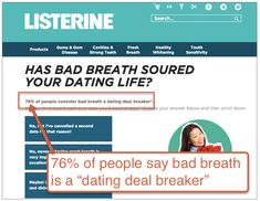 bad breath dating deal breaker This is definitely a deal breaker. There is nothing worse than kissing someone and their breath smells like a animal just crawled in their mouth and died.