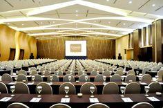 Grand Ballroom At Gumaya Tower Hotel Event Marketing, Conference Room, Semarang, Table, Tower, Furniture, Home Decor, Rook, Decoration Home