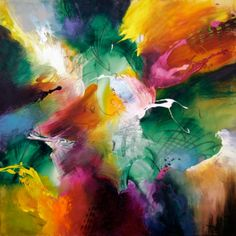Loves secret surprise by jonas gerard art that sings to me абстрактная живо Abstract Images, Abstract Art, Watercolor Art, Cool Art, Art Drawings, Fine Art, Abstract Paintings, Art Tutorials, North Carolina