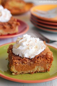 I originally shared this recipe on October 9, 2010, but since this Pumpkin Pie Cake is still my favorite pumpkin recipe, it's time to be ...