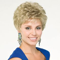 Festive Wig - Great style is in the details. . . like open, airy curls and lightweight, all day comfort.Find this style & more @ thewigcompany.com