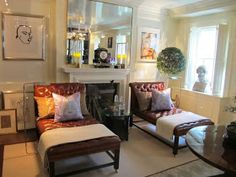 La Dolce Vita: This Week's Fabulous Room-- A Day Early!