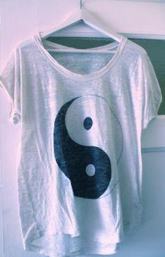 I have this shirt. Bringin' back the ying yang.
