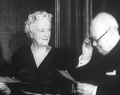Winston and Clementine Churchill
