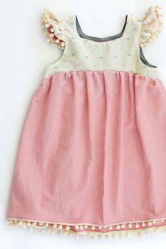 Little Girls' Handmade Bohemian Dress   SillyMeBaby on Etsy