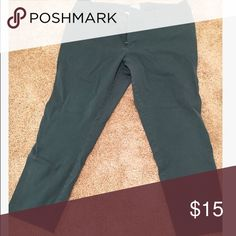 Evergreen dress pants Great color! Worn twice, great for work! Mossimo Supply Co. Pants