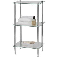 Shop Wayfair for Free Standing Bathroom Shelving $89.99