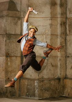 Dance Spirit Magazine Newsies must master this jump