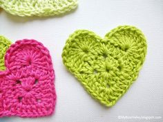 Sweet Heart Crochet - Tutorial ❥ 4U // hf