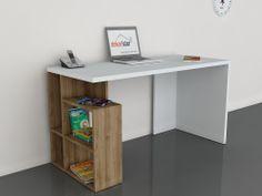 Labran Çalışma Masası Beyaz-Ceviz 199,00 TL