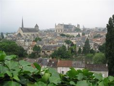 Poitiers, France, the second place I lived. I remember this view it is from the top of the bluff close to where the army base was located!