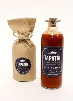 Tapatío Hot Sauce by Daniel Duplex, via Behance