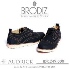Brodiz Audrick, Warna: Black, Size : 40-44. Untuk Pemesanan Online Kunjungi : www.rockford-footwear.com *Gratis pengiriman ke seluruh Indonesia Email: contact@rockford-footwear.com Pin : 525B26DF Atau...