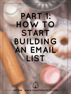 Buildng an email list is like a business asset. You can make more sales…