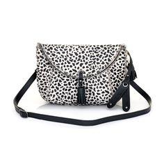 Covet Me Mini Snow leopard print bag