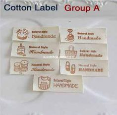 Free shipping 20mm zakka handmade 100% cotton webbing cloth tape printed label, Cotton Ribbon Sewing Tape 7pcs/group,700pcs/lot(China (Mainl...