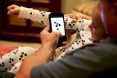 "Interactive ""smart pajamas"" -- scan them and you'll get an e-story for bedtime!"