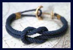 Denizci Düğümü Bileklik Nasıl Yapılır bracelets