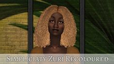 Sims 2 Hair, My Girl, Curly Hair Styles, Girls, Toddler Girls, Daughters, Maids