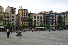 ES_160609 Espanja_0170 Pamplonan Plaza del Castillo Navarrassa