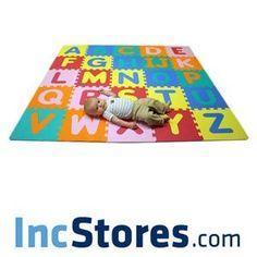 Soft Foam Alphabet Baby Puzzle Play Mat - 26 Letter Set (Baby Product)  http://www.amazon.com/dp/B0052EYB2W/?tag=goandtalk-20  B0052EYB2W