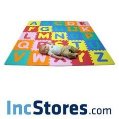 Soft Foam Alphabet Baby Puzzle Play Mat - 26 Letter Set (Baby Product)  http://www.picter.org/?p=B0052EYB2W