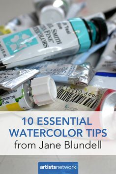 10 essential watercolor tips from artist Jane Blundell on choosing and mixing colors for your palette.