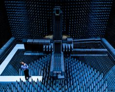 The anechoic and resonating chambers of DTU 'an anechoic chamber (an-echoic meaning non-echoing or echo-free) is a room designed to completely absorb reflections of either sound or electromagnetic waves. they are also insulated from exterior sources of noise. the combination of both aspects means they simulate a quiet open-space of infinite dimension, which is useful when exterior influences would otherwise give false results.'